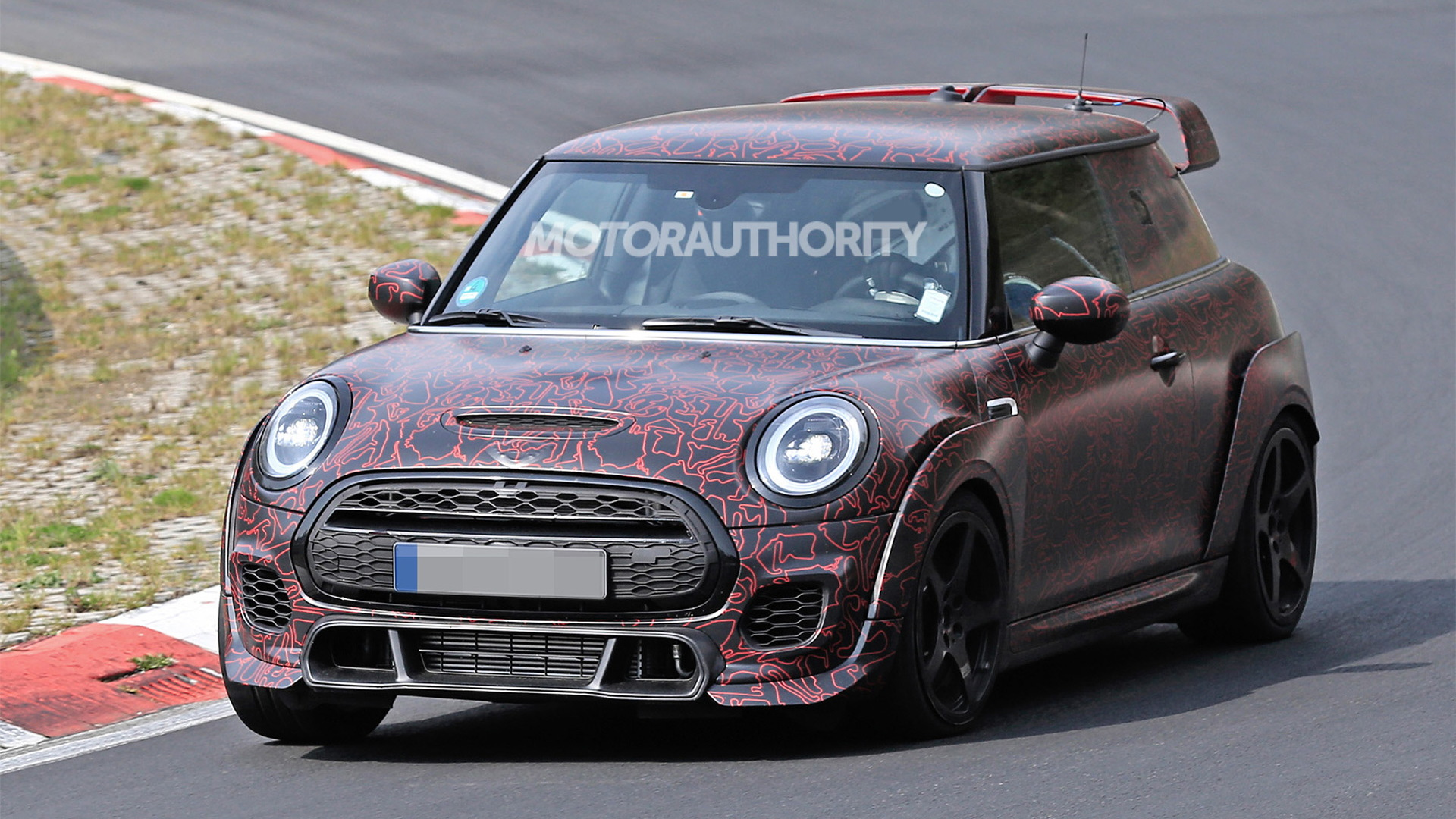2021 Mini John Cooper Works GP spy shots - Image via S. Baldauf/SB-Medien