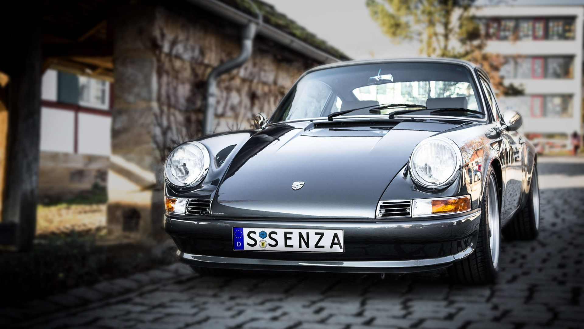 Voitures Extravert Quintessenza electric Porsche 911 conversion