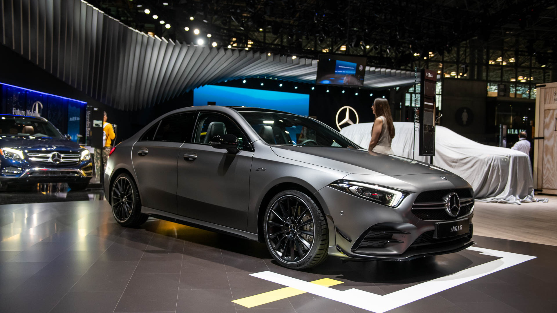 2020 Mercedes Amg A35 Sport Sedan Arrives With 302 Horsepower