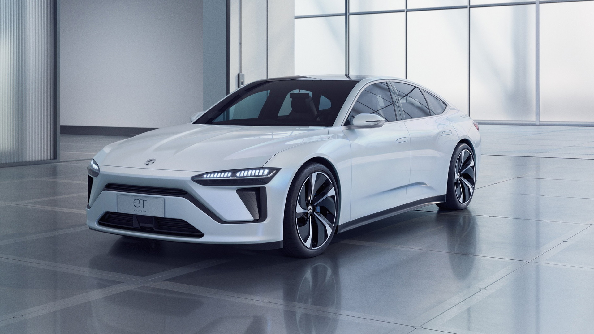 Nio previews its first sedan with ET Preview concept