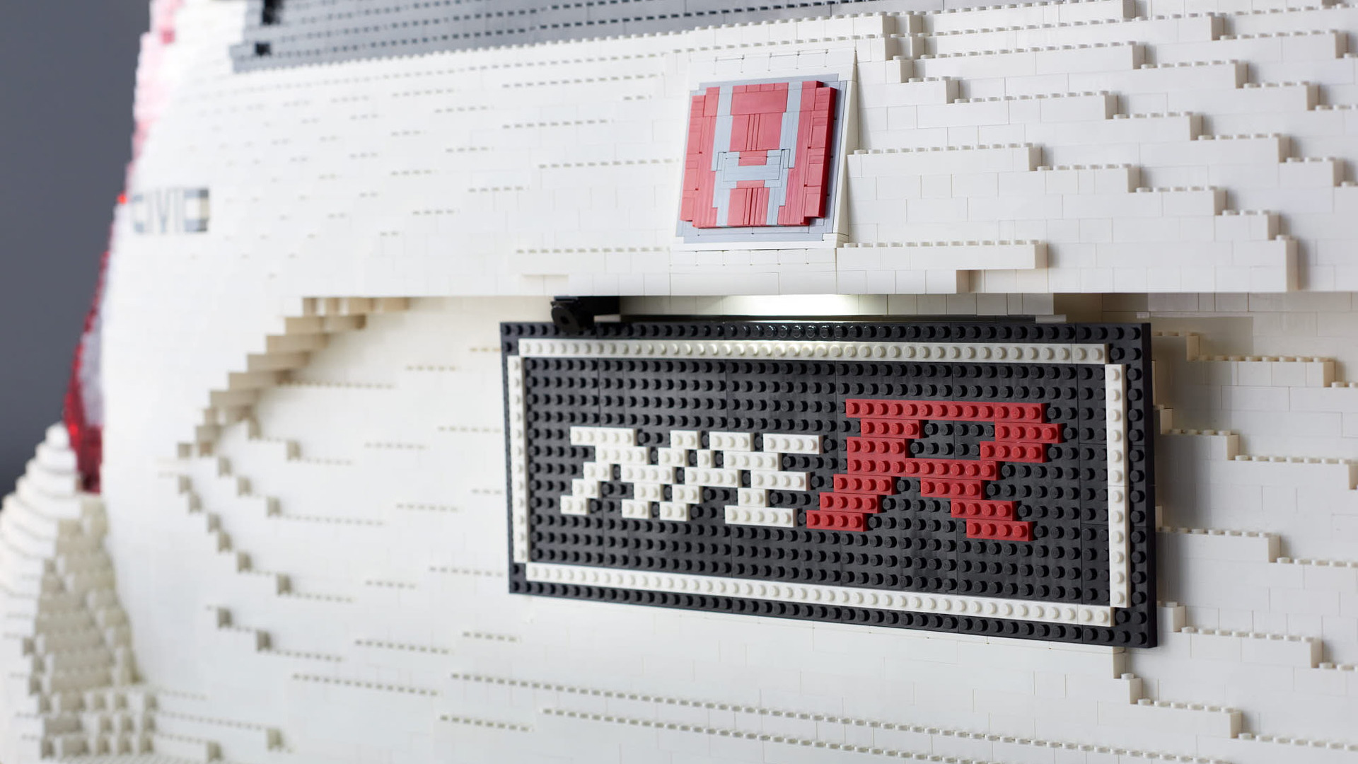 This Life-Size LEGO Civic Type R Was Built With 320,000 Bricks