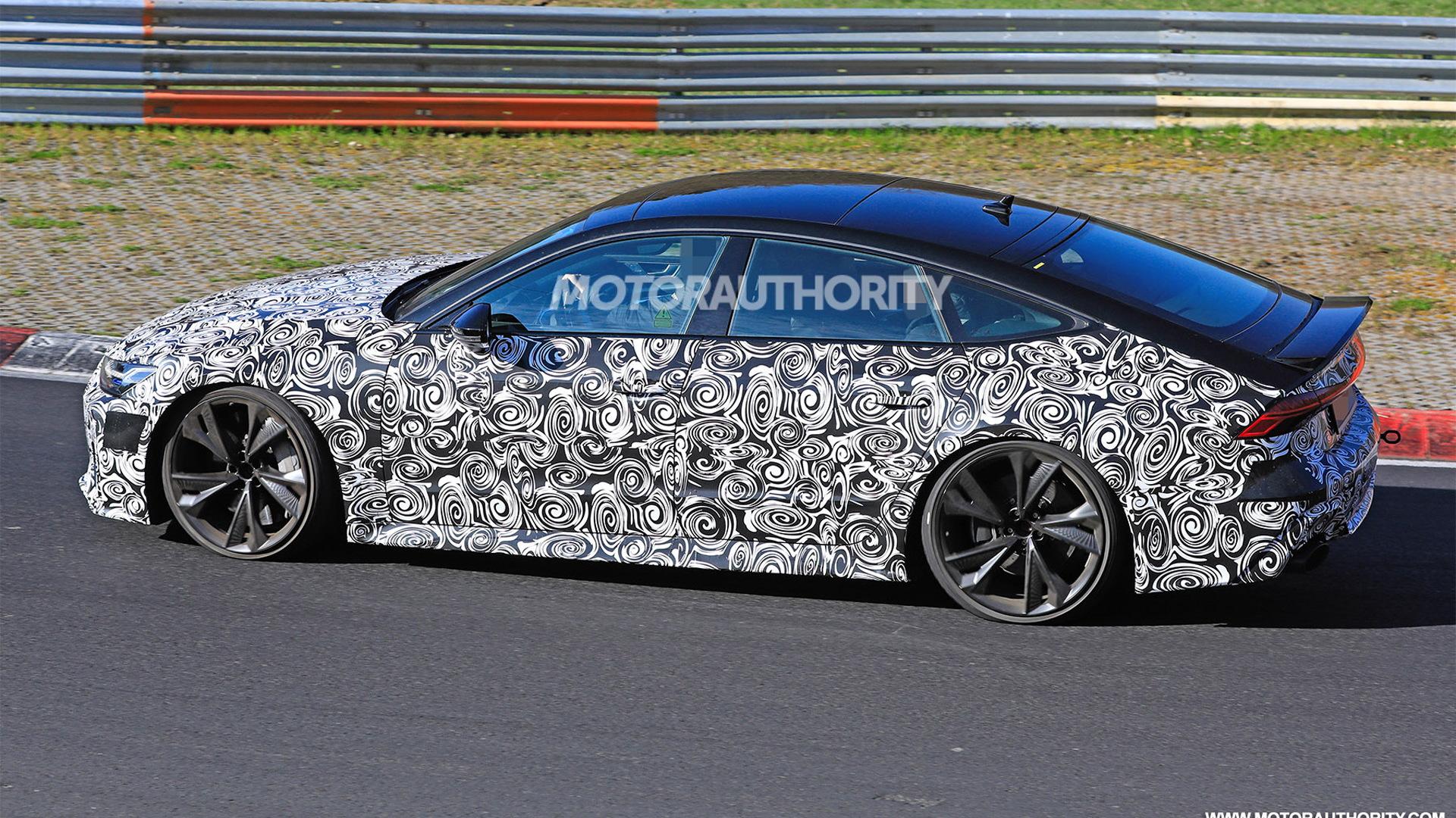 2020 Audi RS 7 Sportback spy shots - Image via S. Baldauf/SB-Medien