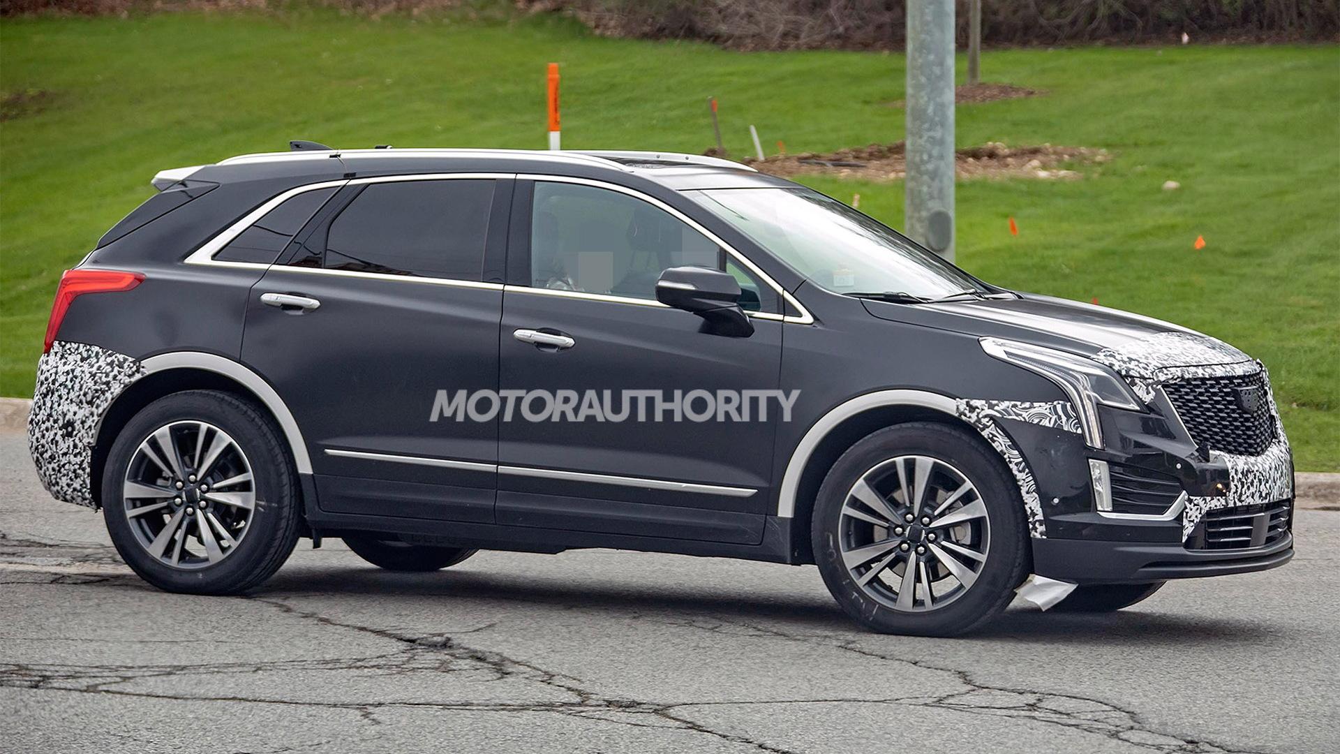 2020 Spy Shots Cadillac Xt5 Exterior