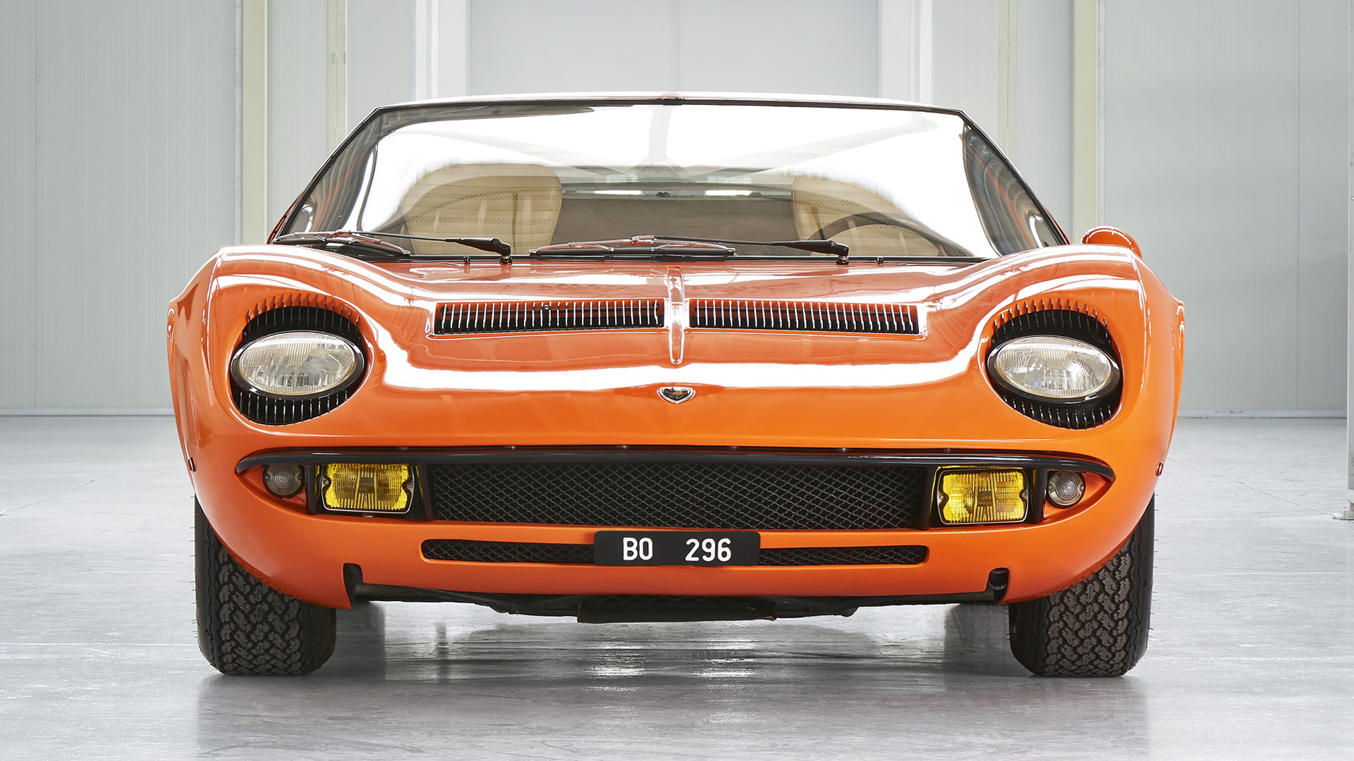 "Lamborghini Miura (chassis number 3586) used during filming of ""The Italian Job"""