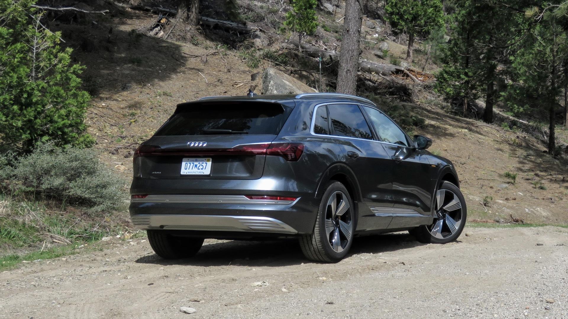 2019 Audi E-tron  -  first drive report  -  Calirornia, May 2019