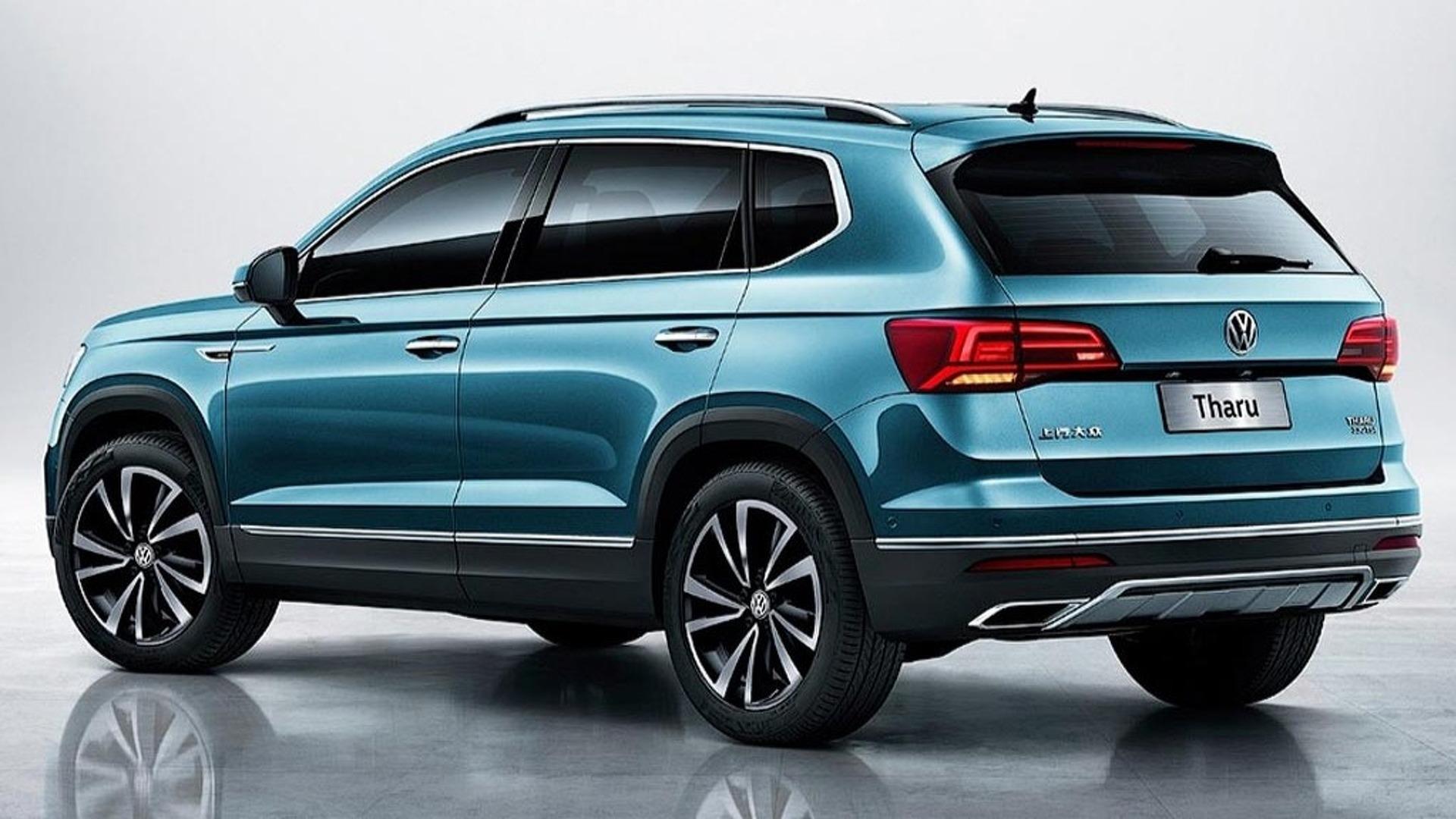 2019 Volkswagen Tharu (Chinese spec)