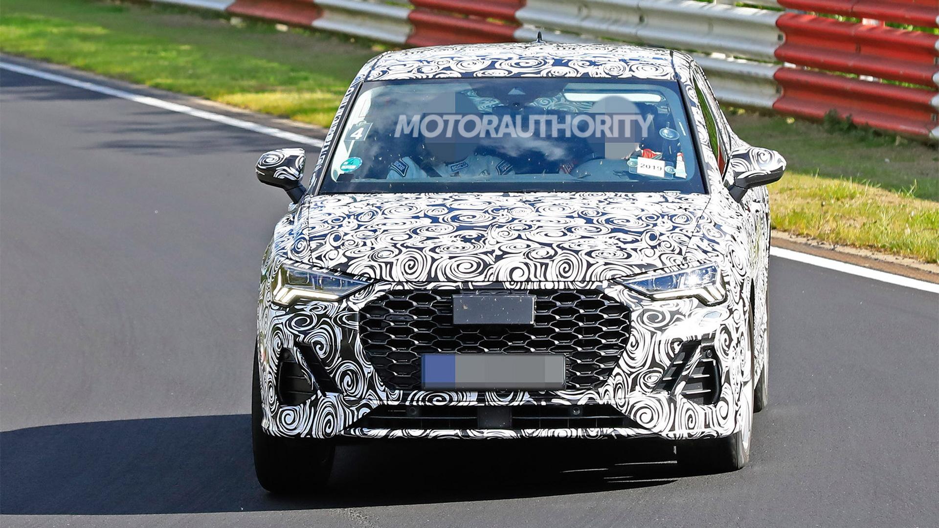 2020 Audi Q3 Sportback spy shots - Image via S. Baldauf/SB-Medien