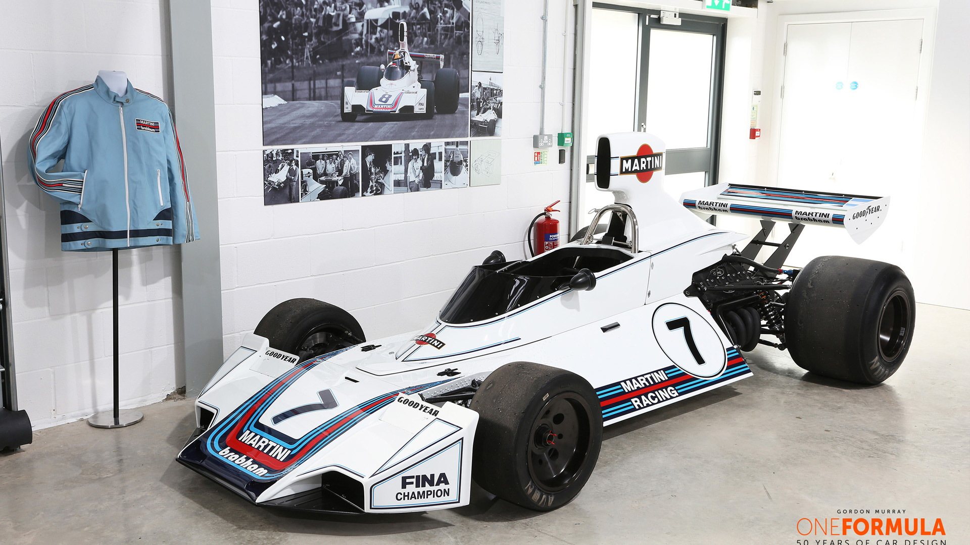 1981 Brabham BT49C Formula One race car