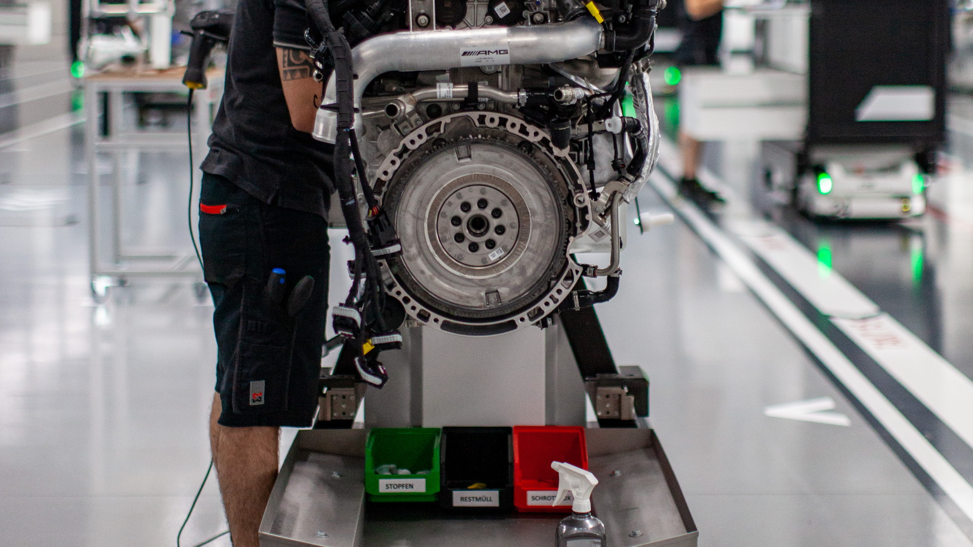 AMG M 139 Engine