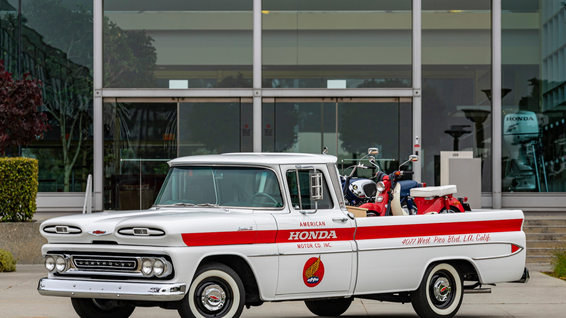 Honda-restored 1961 Chevrolet Apache 10 pickup for 60th anniversary