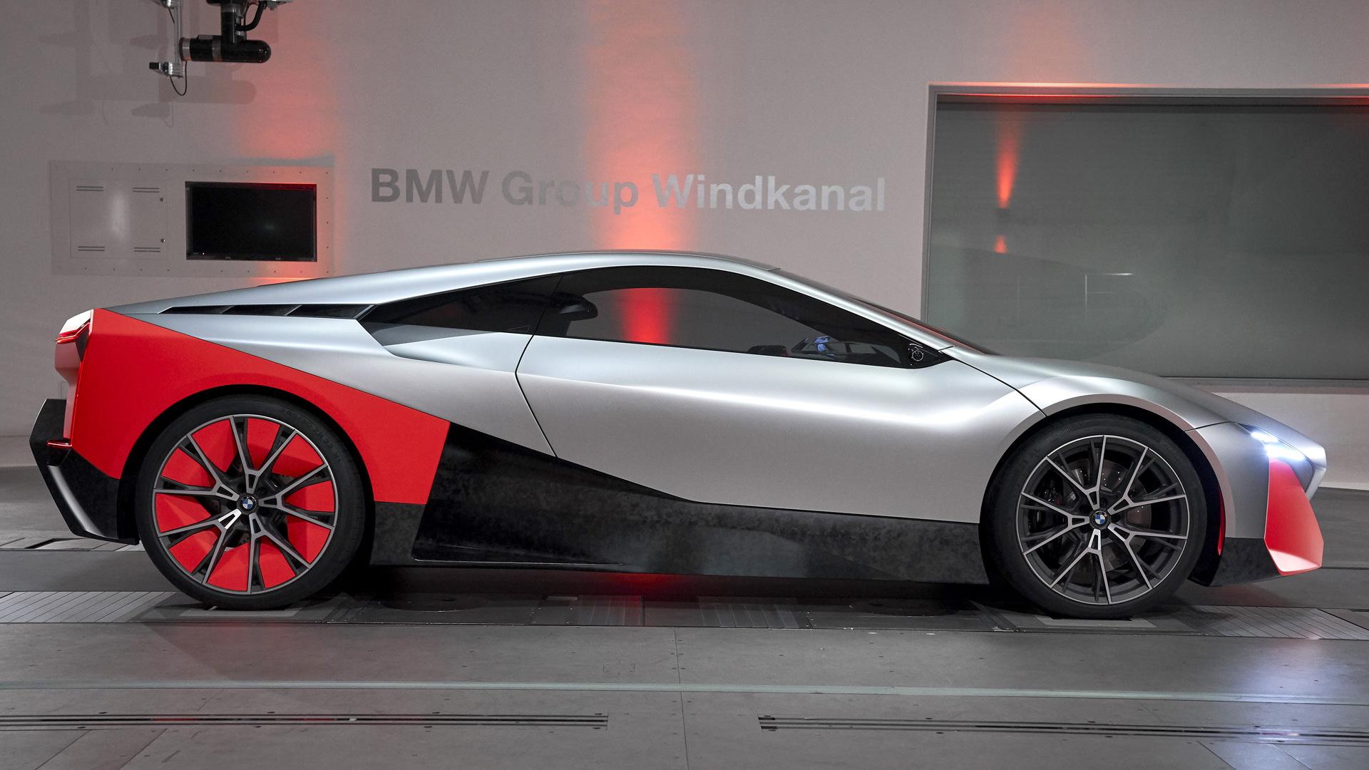 Bmw M Next Concept Points To I8 Successor More Electric
