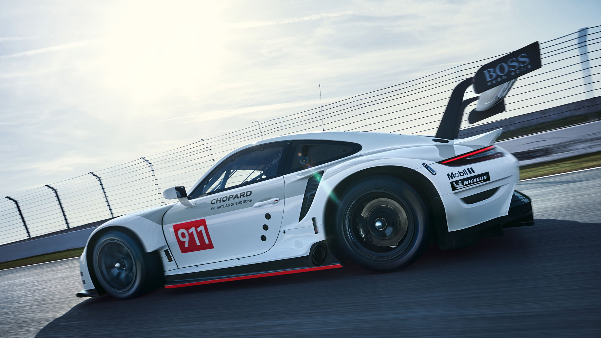 2019 Porsche 911 RSR race car