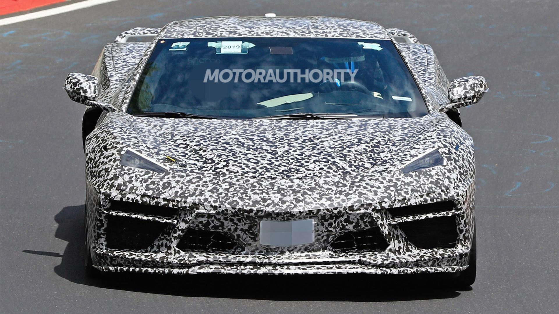 2020 Chevrolet Corvette C8 Spy Shots And Video