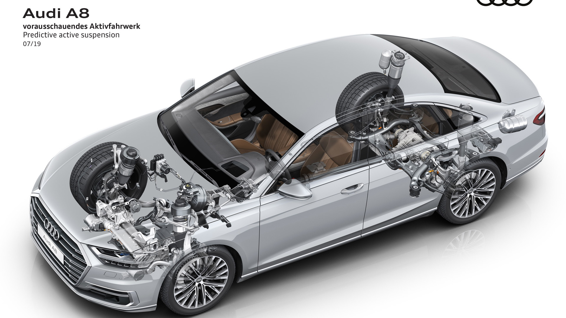 2020 Audi A8's predictive active suspension