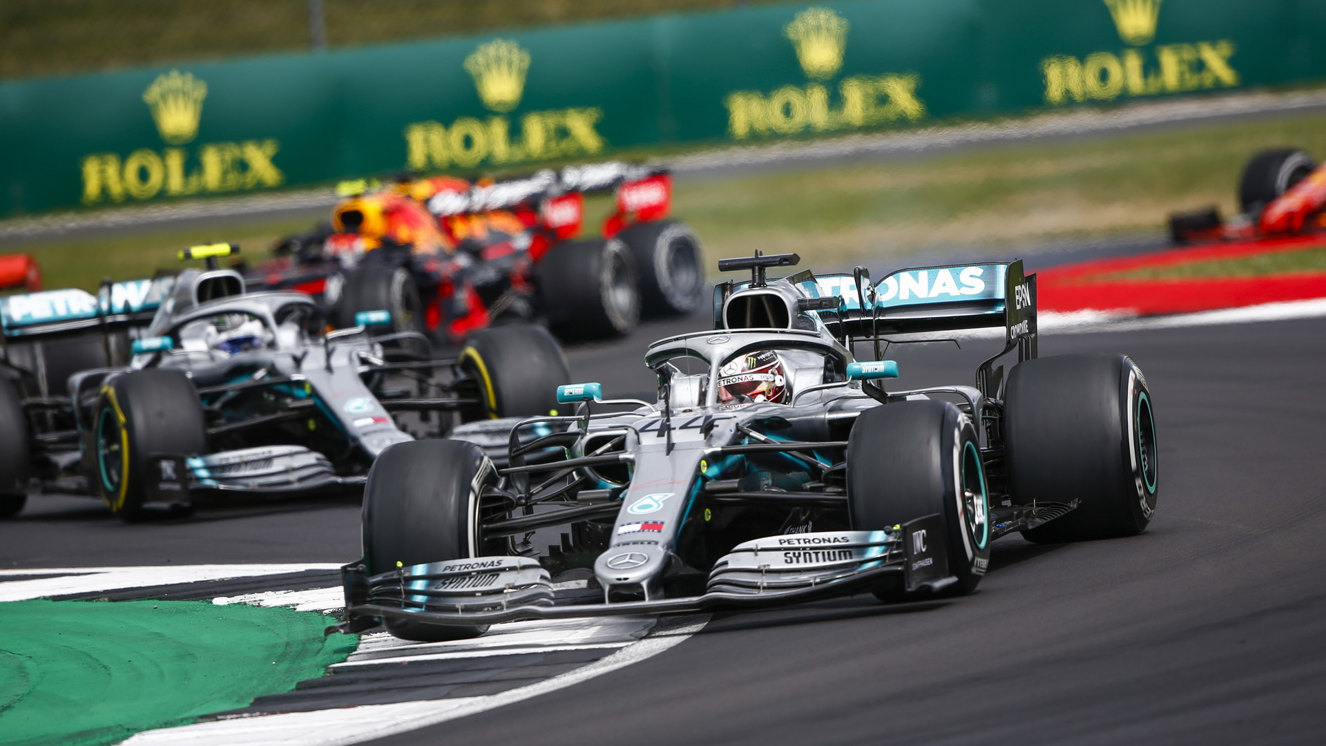 Mercedes-AMG at the 2019 Formula One British Grand Prix