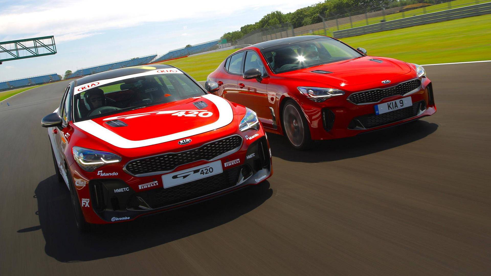 Kia Stinger GT420 Track Car revealed as one-off special