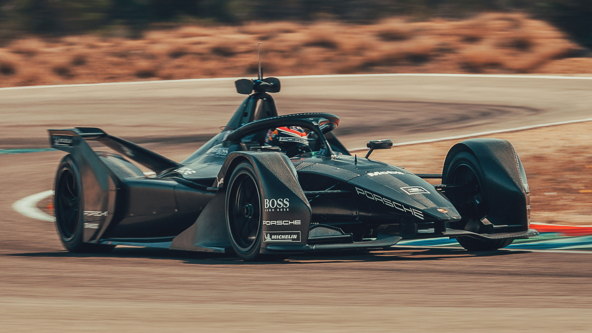 2019/2020 Porsche Formula E race car development