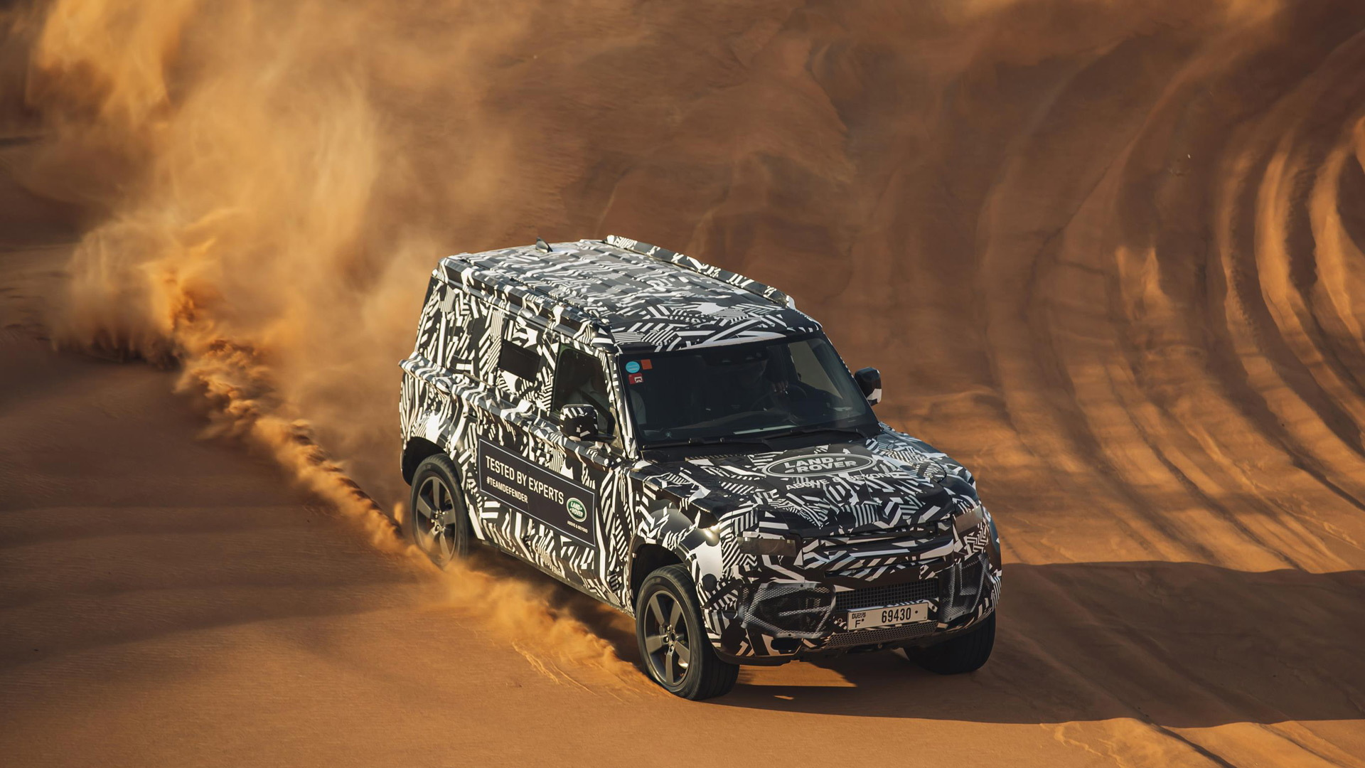 2020 Land Rover Defender tested with International Federation of Red Cross