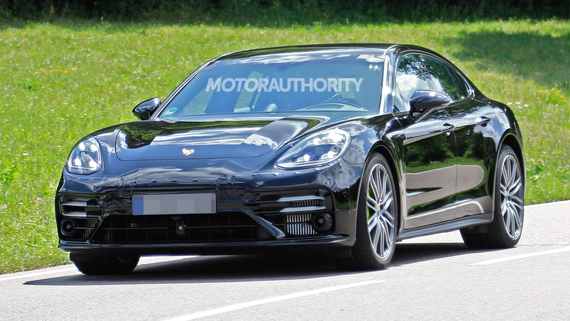 2021 Porsche Panamera Spy Shots And Video