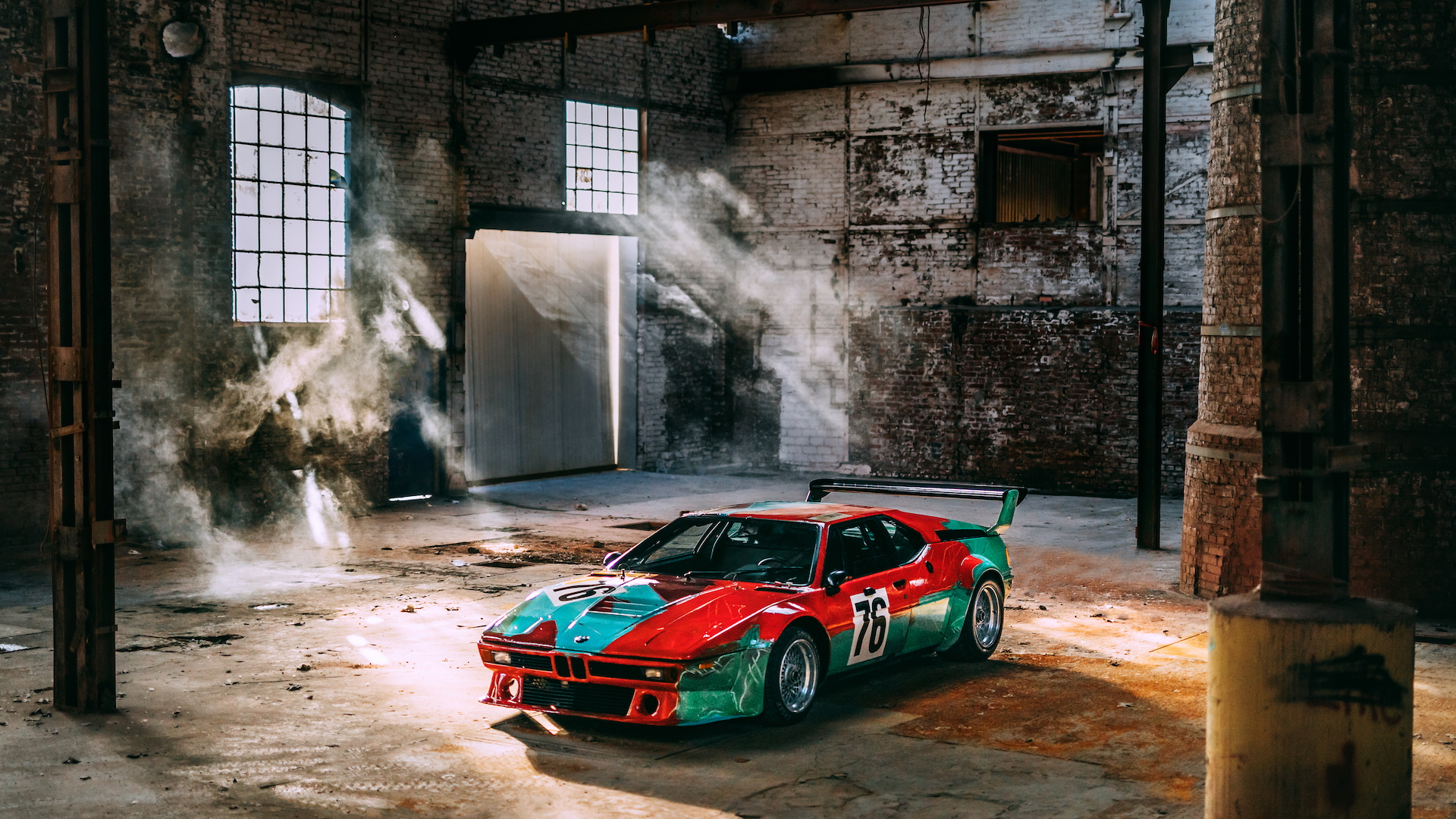 Andy Warhol BMW M1 Art Car turns 40 years old