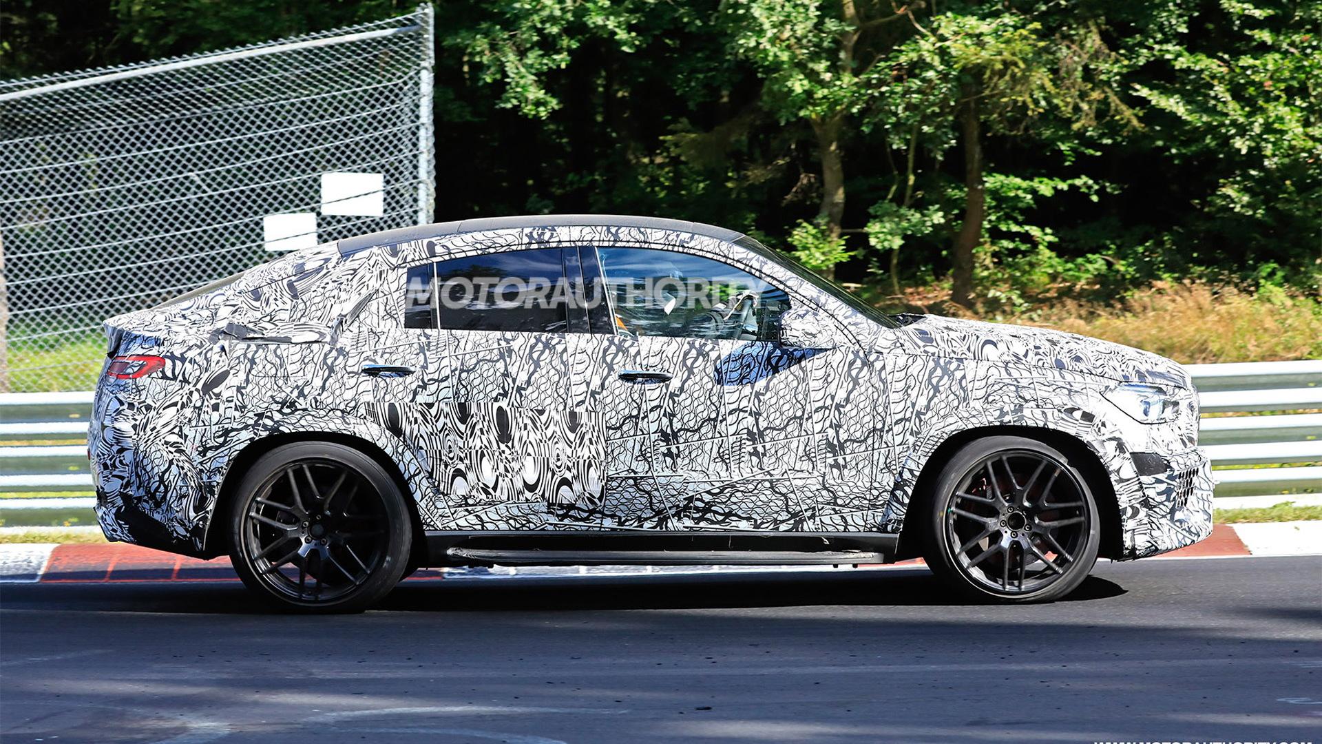 2021 Mercedes-AMG GLE63 Coupe spy shots - Photo credit: S. Baldauf/SB-Medien