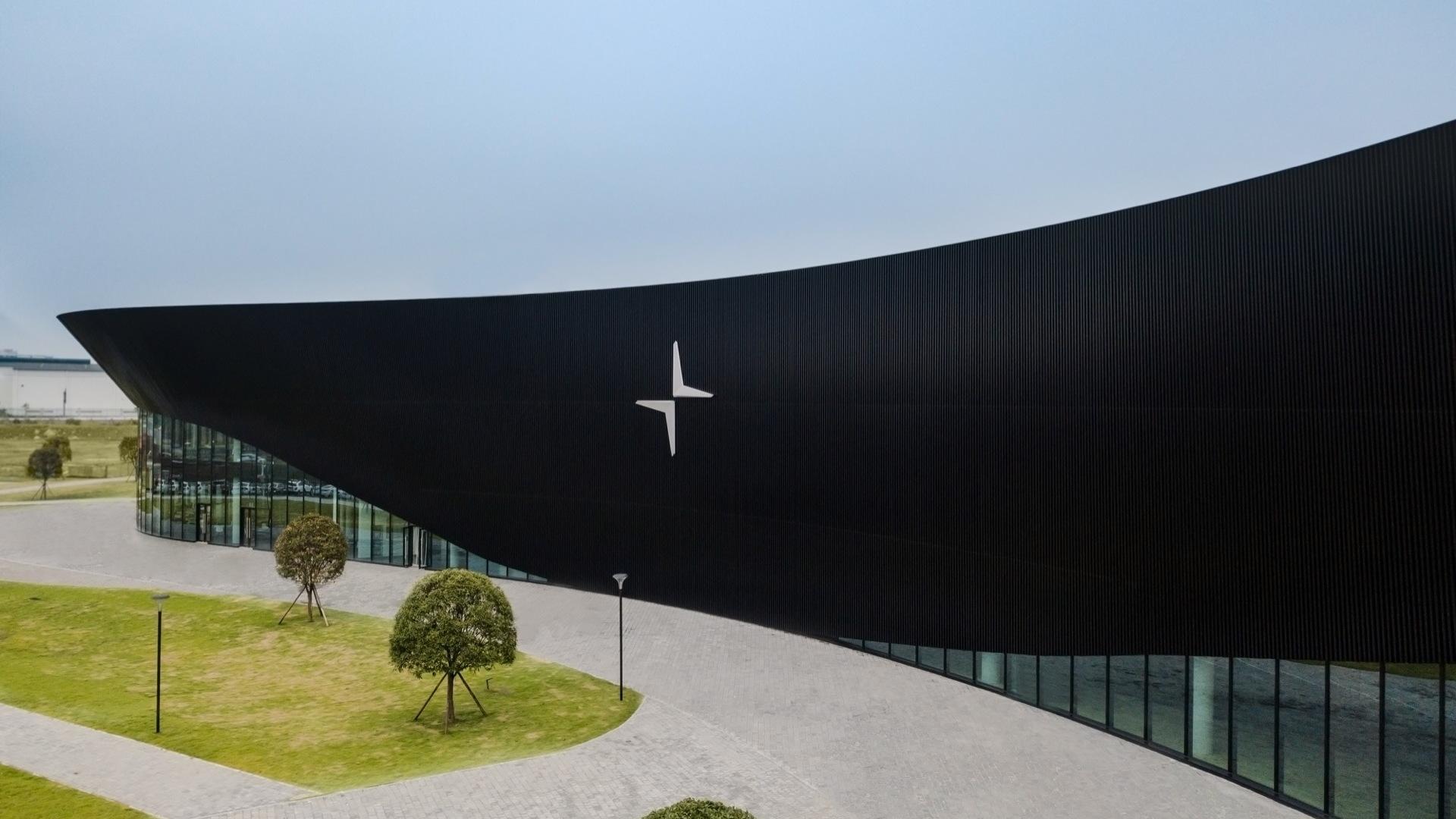 Polestar production facility and customer experience center  -  Chengdu, China