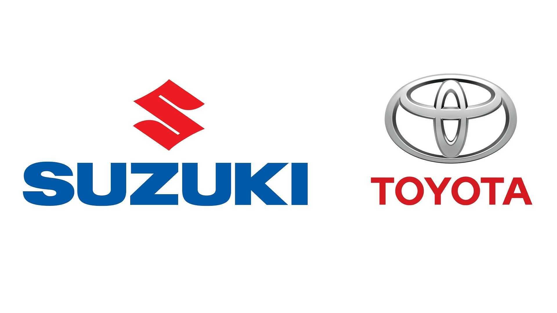 Suzuki and Toyota logos