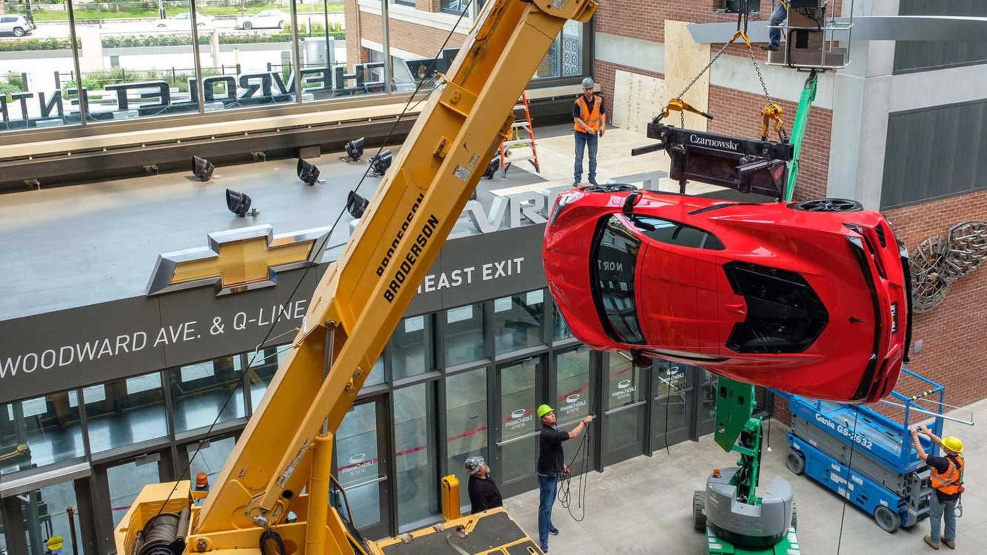 2020 Chevrolet Corvette LCA wall art