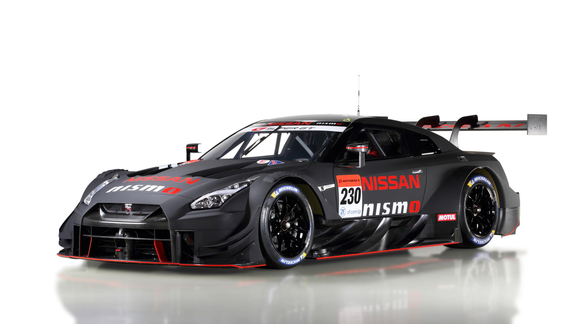 2020 Nissan GT-R Nismo GT500 Super GT race car