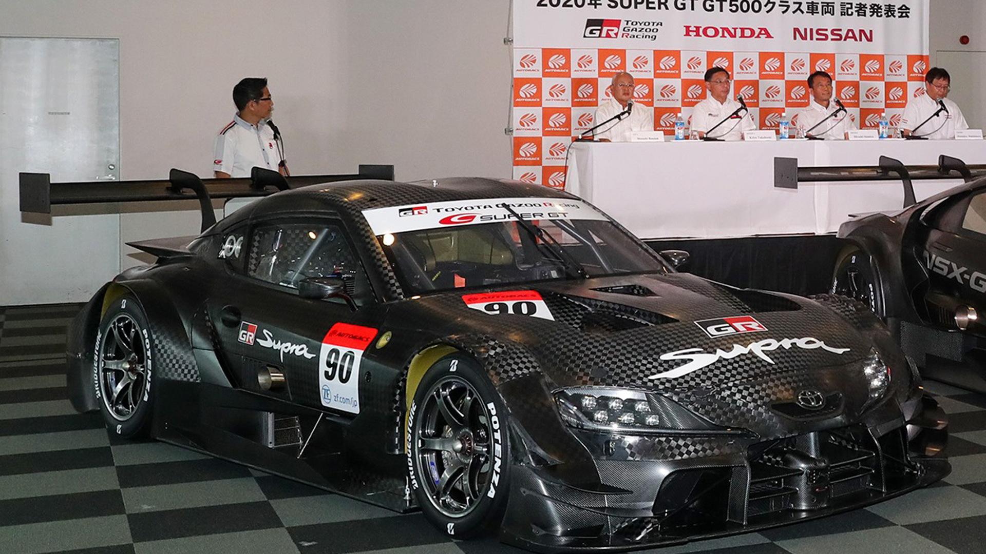 2020 Toyota GR Supra GT500 Super GT race car