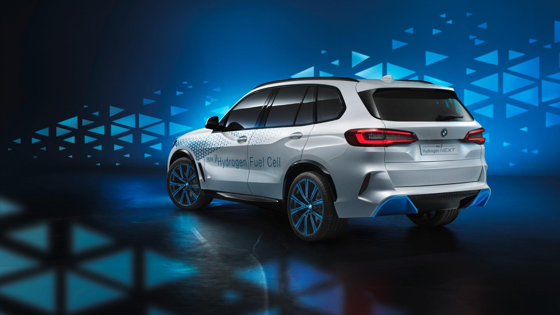 BMW i Hydrogen Next development vehicle (fuel-cell X5)