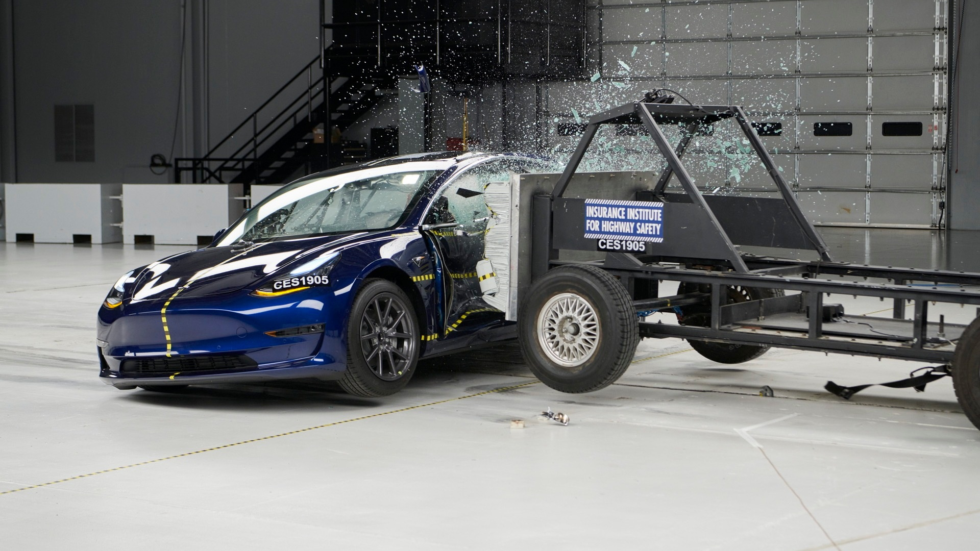 Tesla Model 3 earns IIHS Top Safety Pick Plus