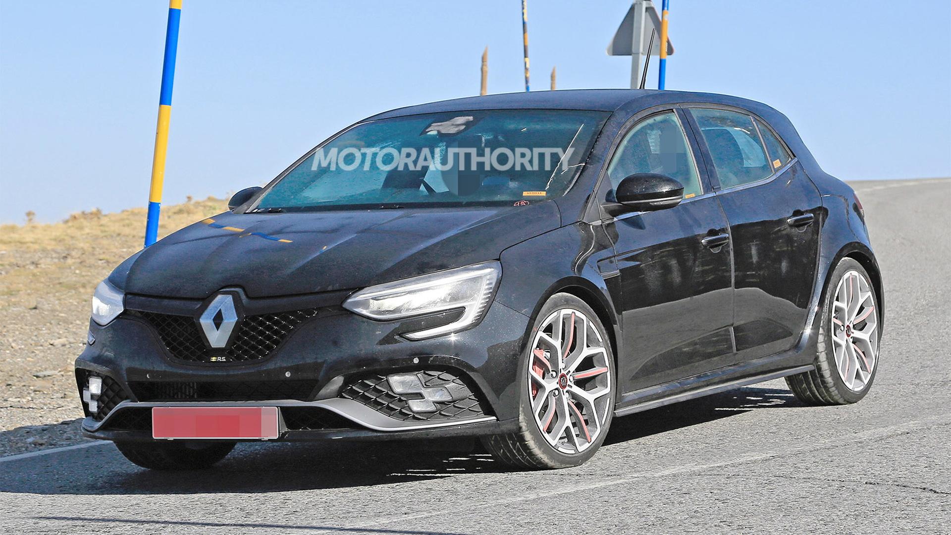 2020 Renault Megane RS facelift spy shots - Photo credit: S. Baldauf/SB-Medien