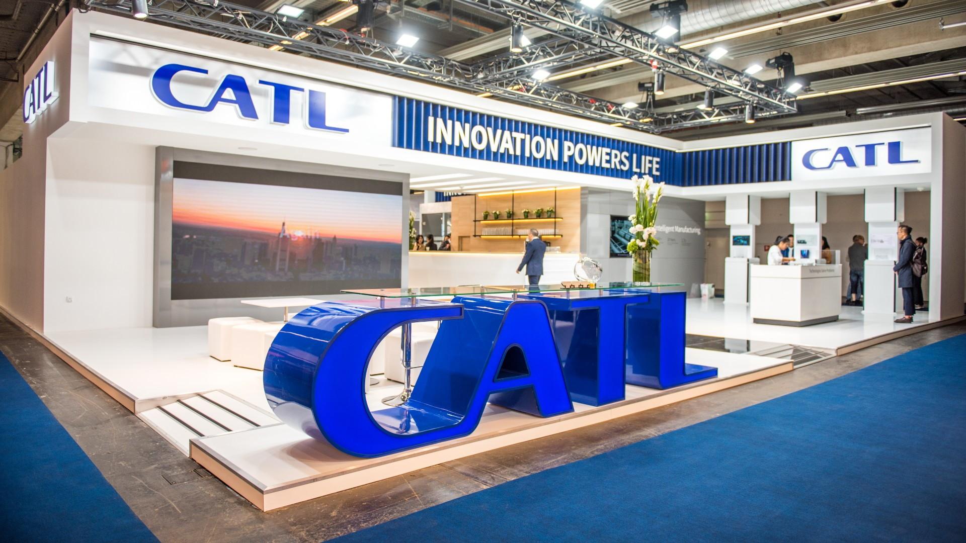 CATL at Frankfurt auto show