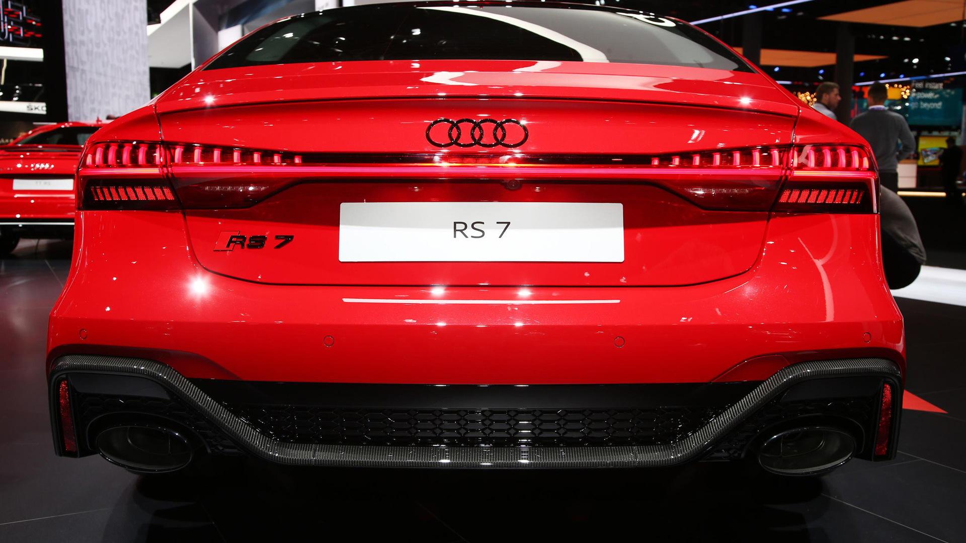 New Audi RS 7 Sportback