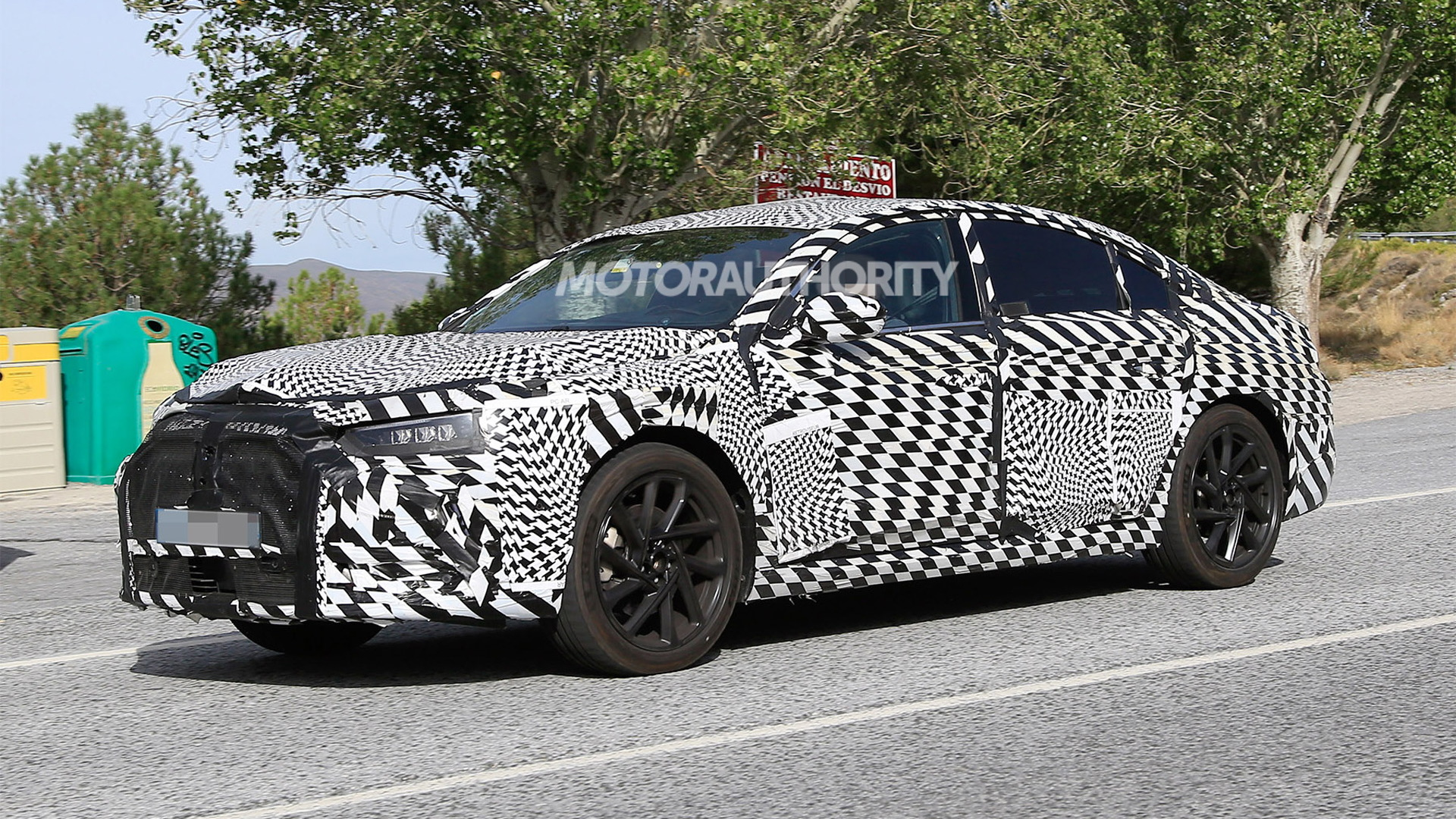 2020 DS 8 spy shots - Photo credit: S. Baldauf/SB-Medien