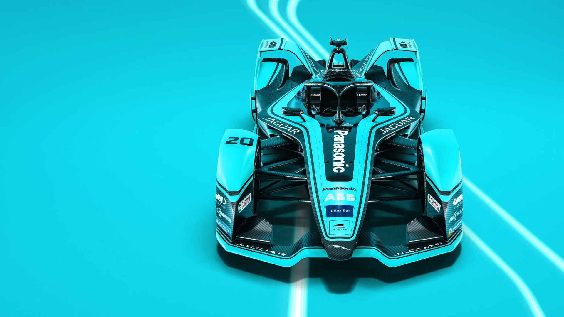 2019/2020 Jaguar I-Type 4 Formula E race car