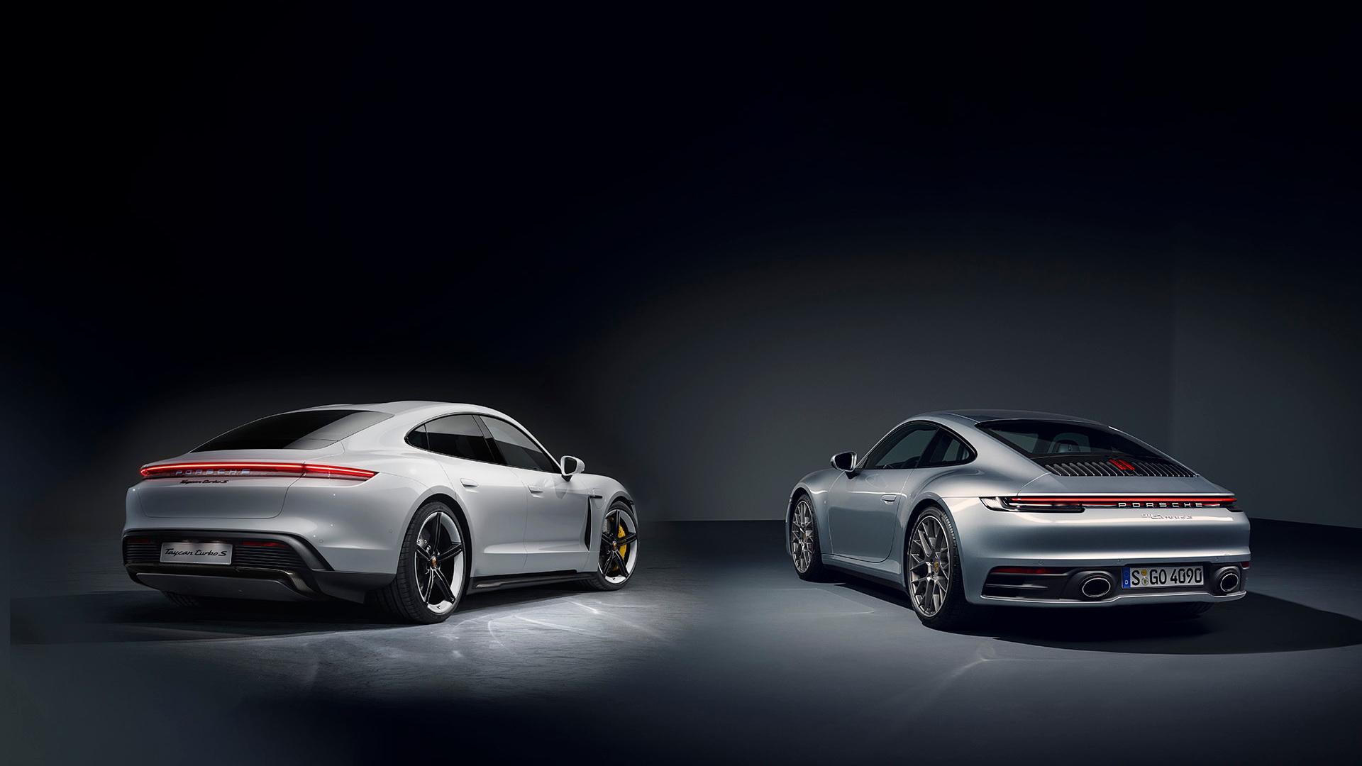 2020 Porsche 911 vs. 2020 Porsche Taycan