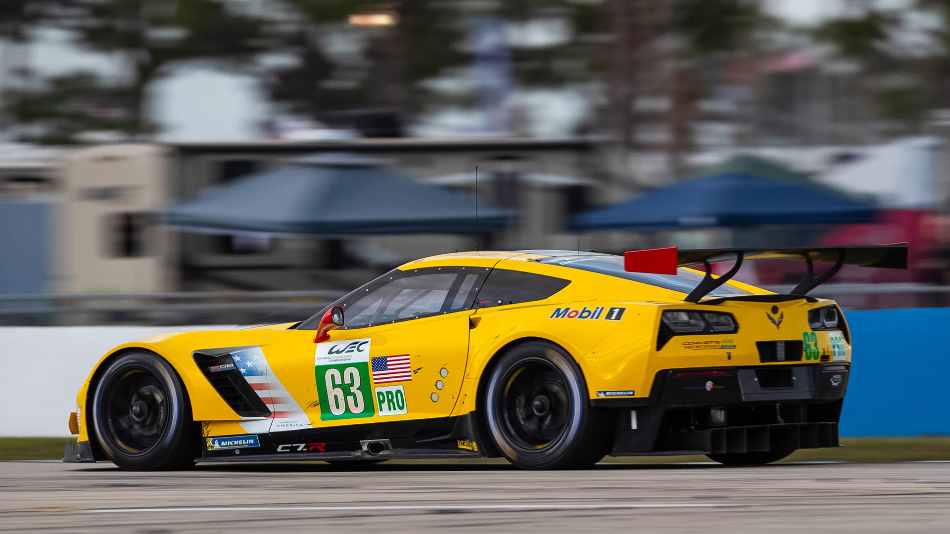 Chevrolet Corvette C7.R race car