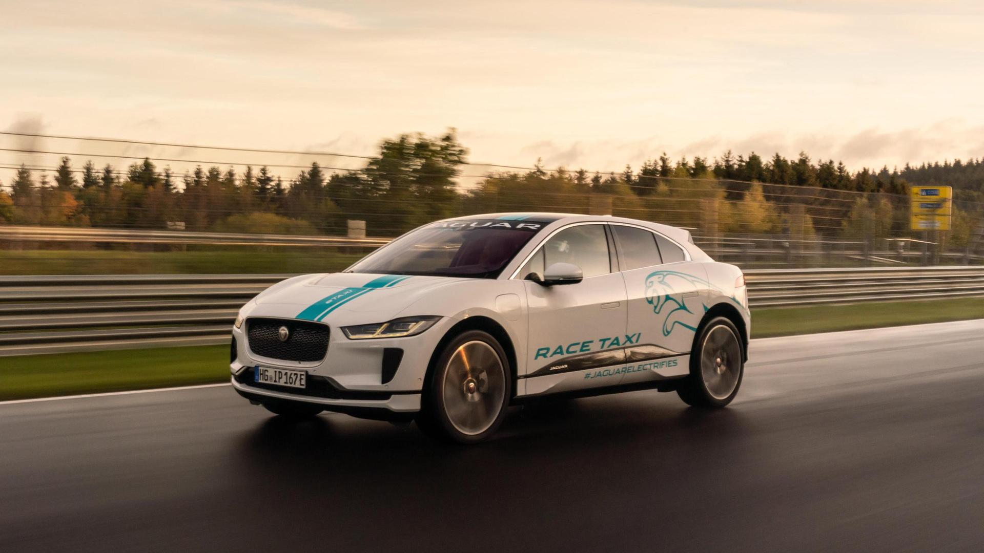 Jaguar I-Pace NürburgringTaxi