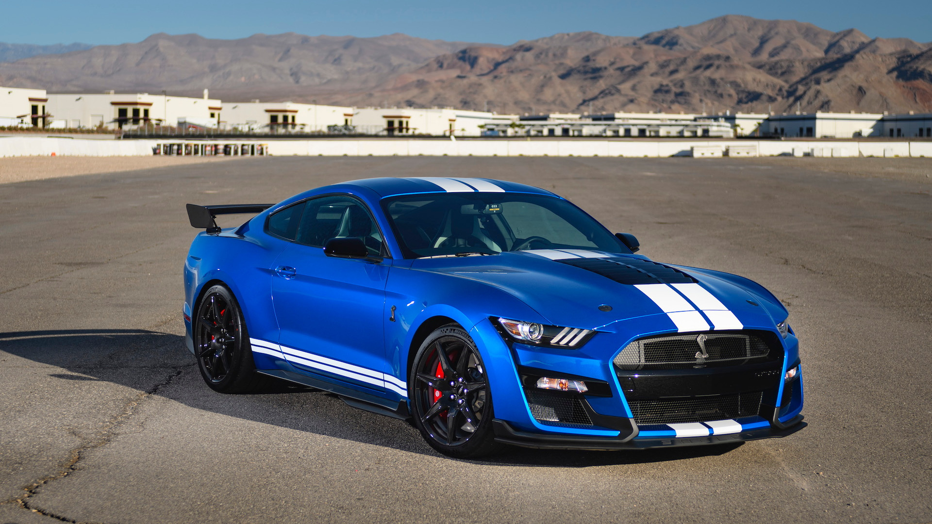 2020 Ford Mustang Shelby GT500 media drive, Las Vegas, October, 2019