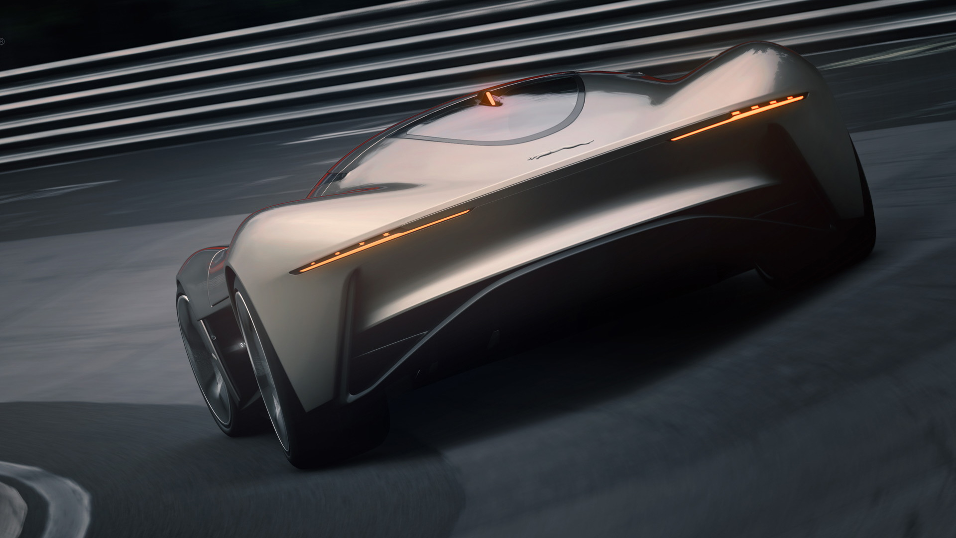 Electric Jaguar Hypercar with 1,000bhp revealed. Sadly, it's not real