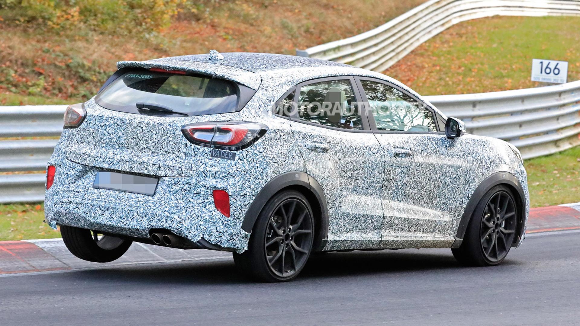 2020 Ford Puma ST spy shots - Photo credit: S. Baldauf/SB-Medien