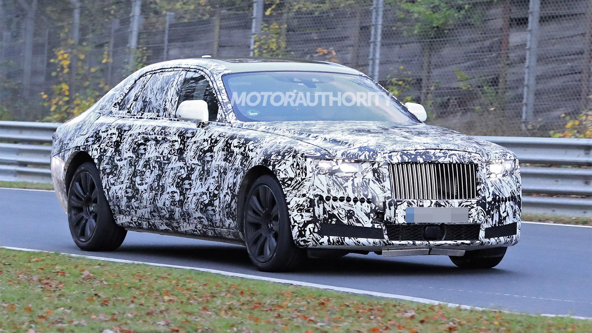 2021 Rolls-Royce Ghost spy shots - Photo credit: S. Baldauf/SB-Medien