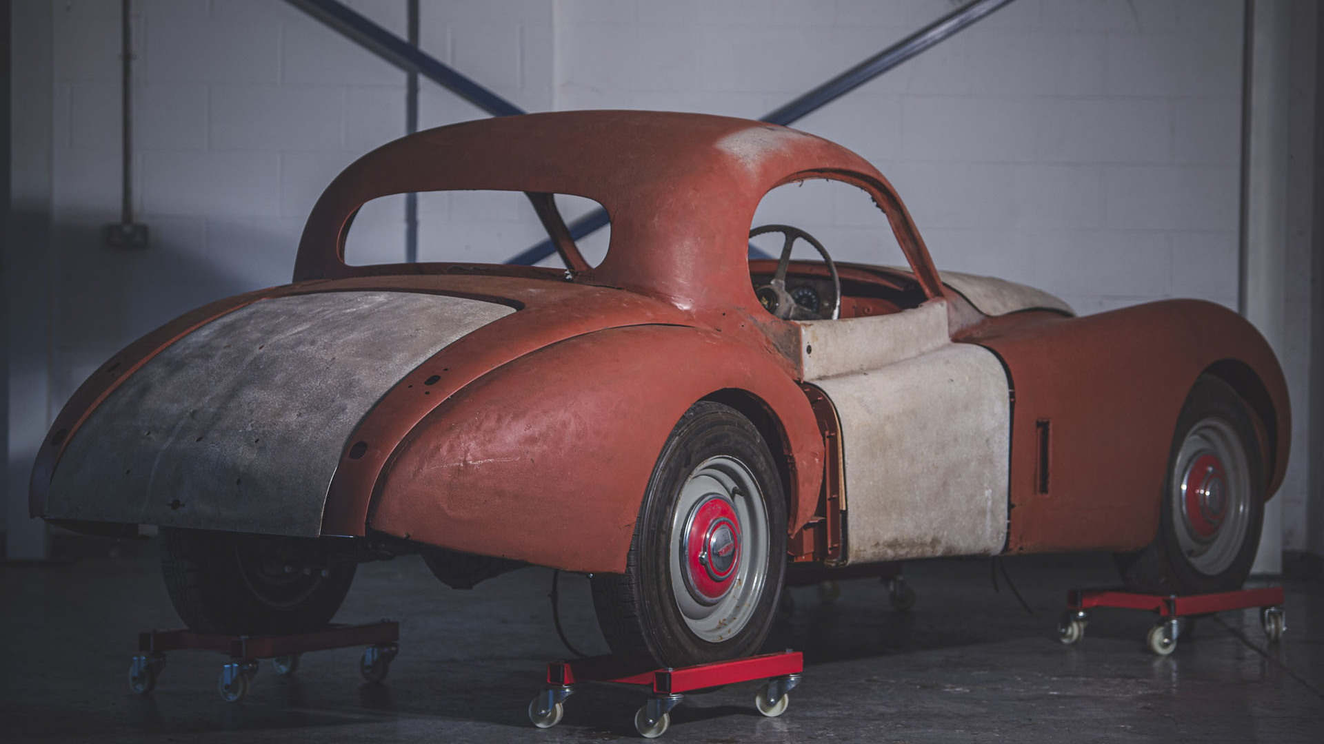 1954 Jaguar XK120 FHC barn find
