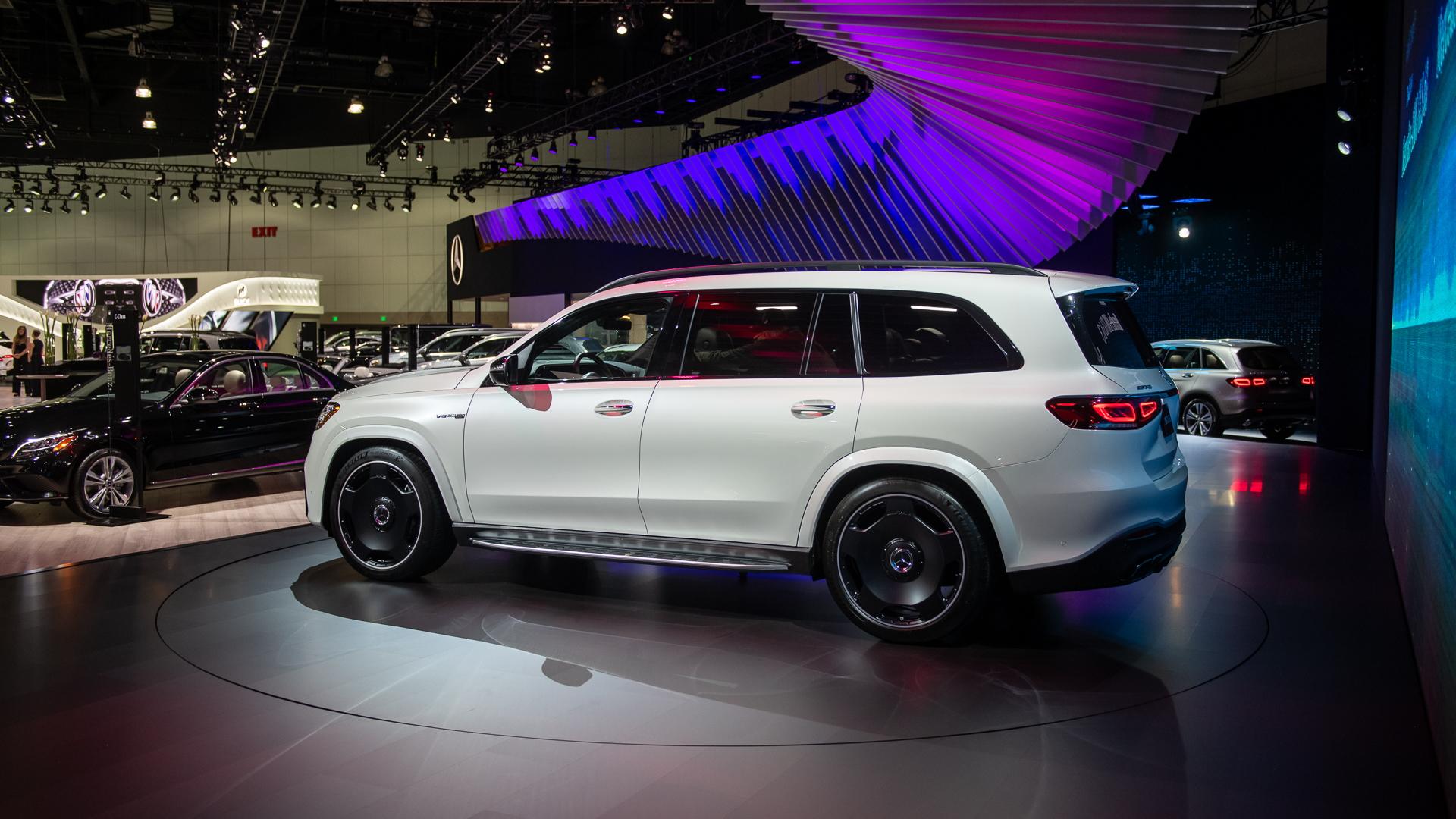 2021 Mercedes-Benz GLS 63 AMG, 2019 LA Auto Show