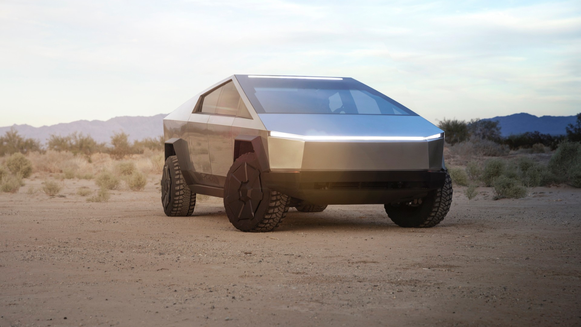 Tesla Cybertruck prototype  -  Nov. 2019