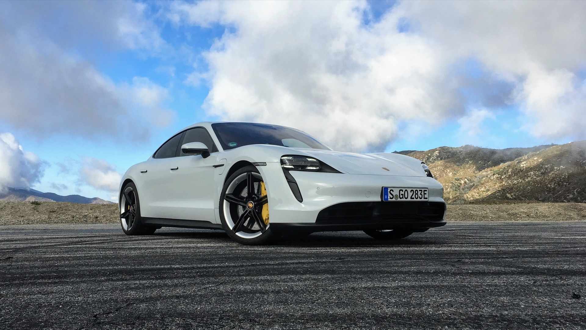2020 Porsche Taycan 4S first drive  -  Los Angeles, CA