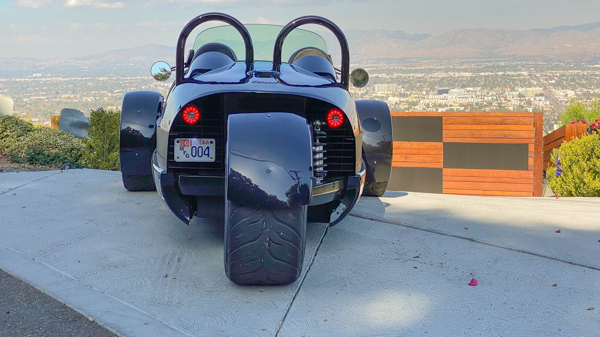 2020 Vanderhall Edison three wheeler