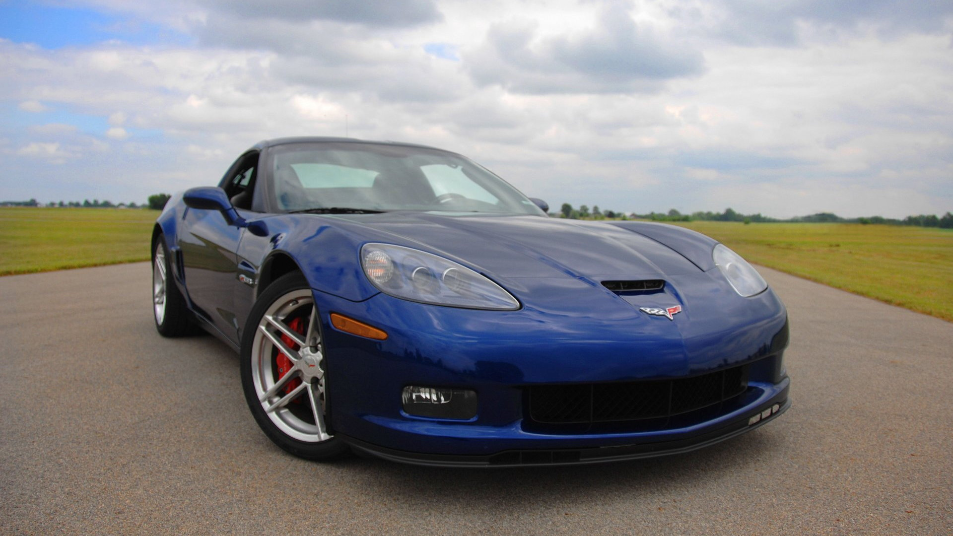 2005 Chevrolet Corvette Z06 Blue Devil